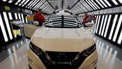 Photo of Nissan stops production at UK factory over coronavirus impact