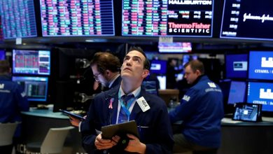 Photo of Wall Street opens lower as record jobs growth ends