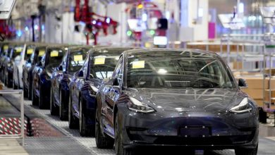 Photo of Tesla's China car registrations surge in March as Shanghai factory back up