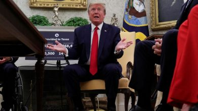 Photo of Trump says his administration is talking to Republican senators about work visa issue