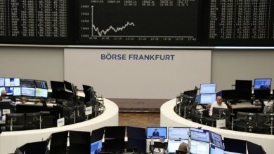 Photo of European shares drop as Powell fans recovery fears