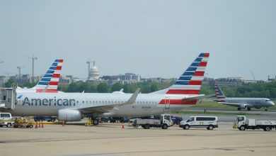Photo of American Airlines expects to halt cash burn by year-end, shares jump