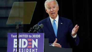 Photo of Democratic presidential candidate Biden says he is targeting early August to announce his vice presidential pick