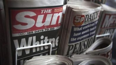 Photo of British newspaper publisher Reach to cut 550 jobs