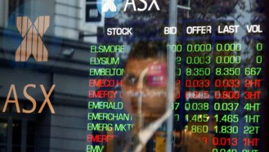 Photo of Australia stocks lower at close of trade; S&P/ASX 200 down 0.03%
