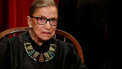 Photo of U.S. Supreme Court Justice Ginsburg undergoes bile duct procedure in New York hospital