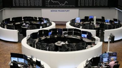 Photo of European stocks lower ahead of Powell speech, banks weigh