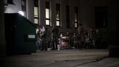 Photo of Wisconsin city calm but police shooting reverberates across U.S.