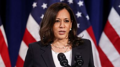Photo of Democrat Harris says Wisconsin officer should be charged: NBC