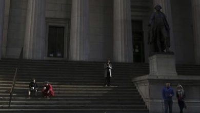 Photo of U.S. stocks higher at close of trade; Dow Jones Industrial Average up 0.57%