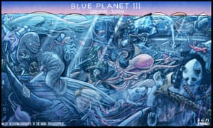 Photo of Ben Jennings: fear of a blue planet – cartoon