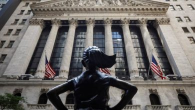 Photo of Wall Street closes higher with defensive bets out front