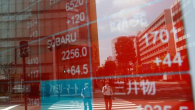 Photo of Asian shares reverse early gains, euro falls to one-week lows