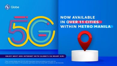 Photo of Globe fires up 5G sites in Metro Manila cities:  Find out if your location is 5G ready
