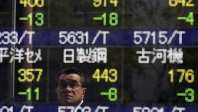 Photo of Asian Stocks Down as U.S. Election Draws Near, COVID-19 Number March Upwards