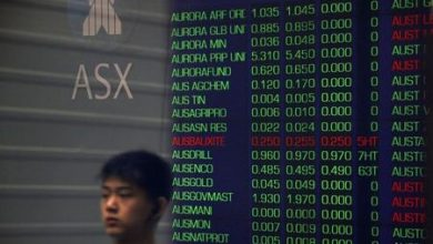 Photo of Australia stocks lower at close of trade; S&P/ASX 200 down 0.55%