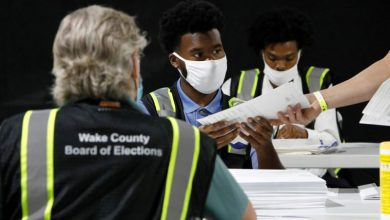 Photo of Young U.S. poll workers brace for Election Day as virus fears keep elders home