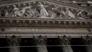 Photo of Wall Street drops in choppy trade as investors look for stimulus