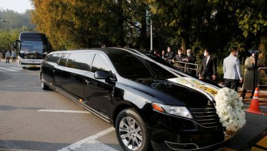 Photo of Funeral held for Samsung chairman Lee Kun-hee, heir faces legal battles