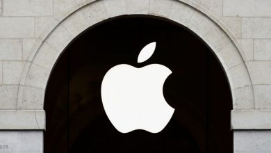 Photo of Apple shares fall as iPhone sales dip weighs on record quarterly results