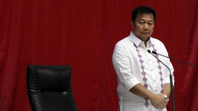 Photo of Davao congressman leaves President Duterte's ruling party