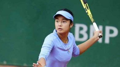 Photo of Young Filipino tennis star Alex Eala has typhoon-hit Philippines in mind