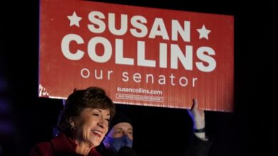 Photo of Republican Senator Collins re-elected in Maine in setback for Democratic hopes