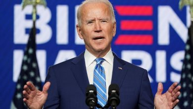 Photo of As Biden nears victory, Trump lashes out with false fraud claims