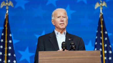 Photo of Biden says he will win presidency, calls for patience as votes are counted