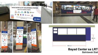Photo of LRT-1 operator partners with Bayad Center