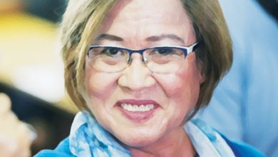 Photo of DoJ wants De Lima, lawyer cited in contempt for talking about trial