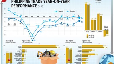 Photo of Philippine trade year-on-year performance (Dec. 2020)