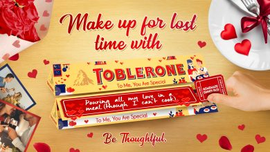 Photo of #MakeUpForLostTime with your loved ones with Toblerone Valentine's Day packs